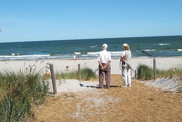 Ostseeheilbad Zingst: Strandzugang